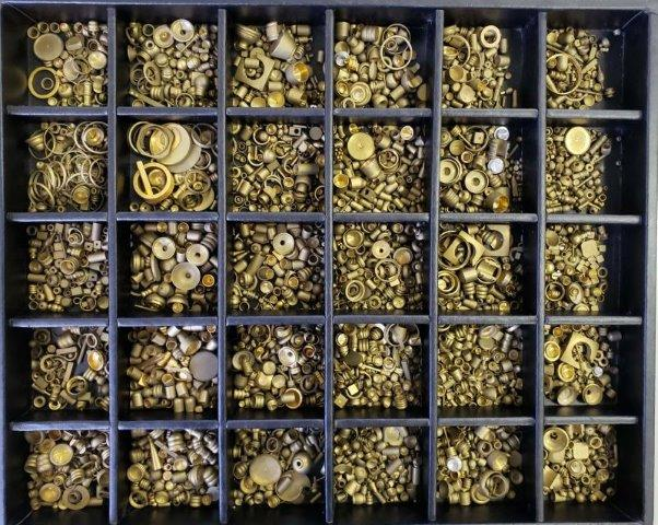 Peças de latão para bijuteria