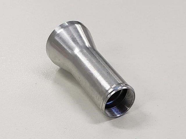 Peças usinadas em alumínio