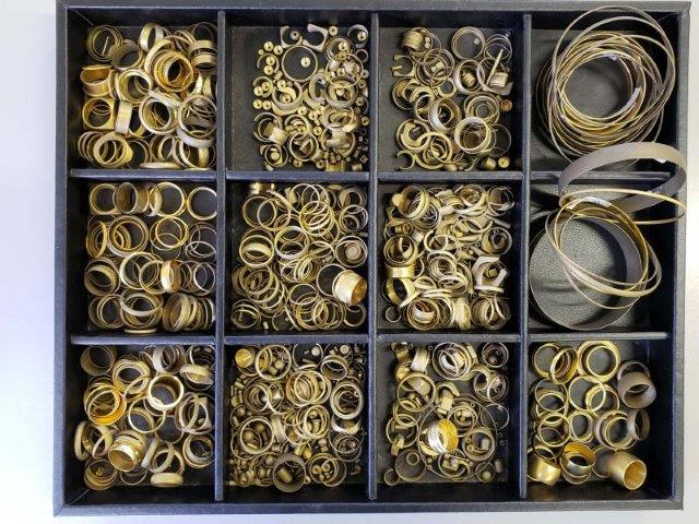 Peças usinadas para bijuterias