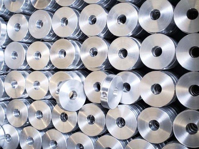 Usinagem em alumínio
