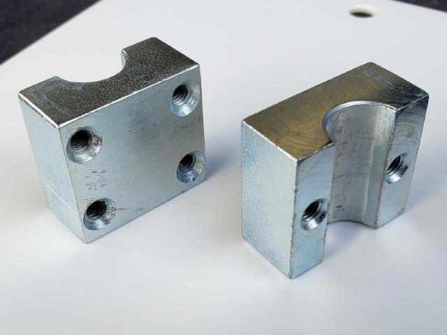 Usinagem de peças fundidas